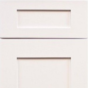 Dove White Shaker Door and Drawer Face